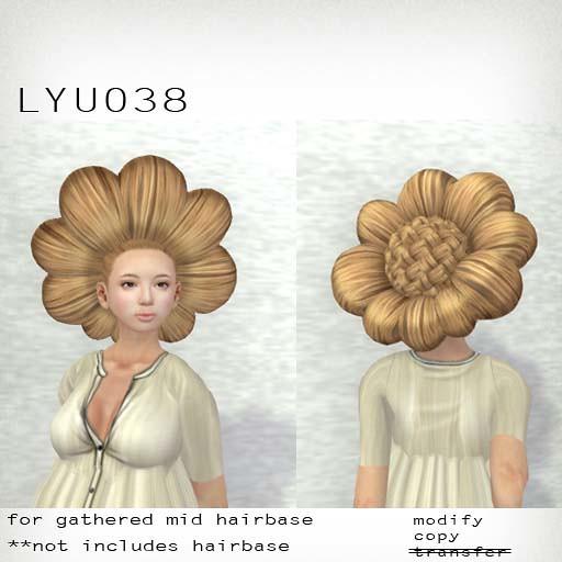 booN LYU038 hair