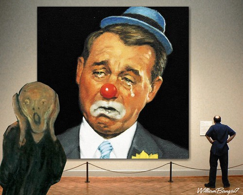 THE BOEHNER SCREAM by Colonel Flick