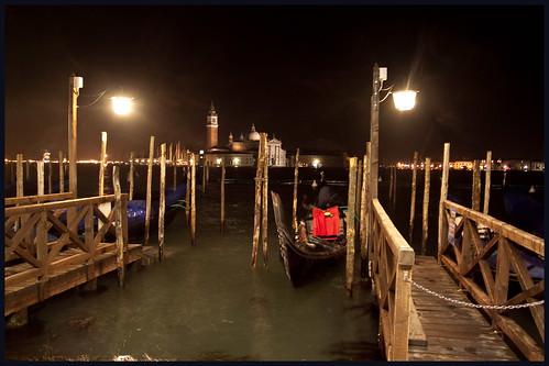 Venetië in de nacht by hans van egdom
