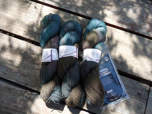 Yarn for a shawl