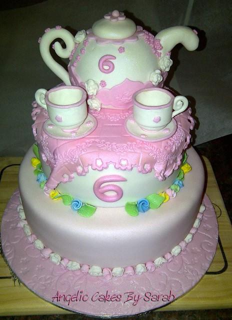 Cake Ideas For A Tea Party Birthday : Birthday Cake Tea Party Flickr - Photo Sharing!