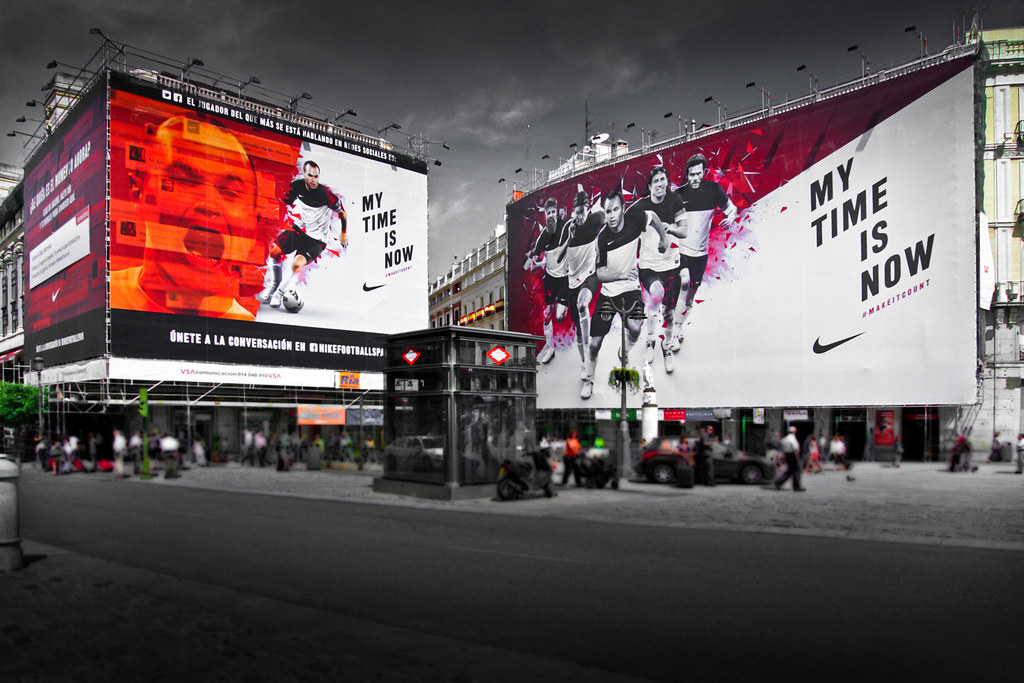 official photos c5c9a f5d80 by Eurocopa 2012. Nike My time is now. Puerta del Sol.  by