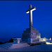 Dubrovnik - Twilight on the Cross of Mount Srd