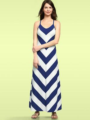 chevron-stripe-maxi-dress