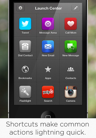 Launch Center Pro para iOS