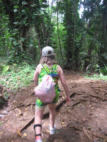 Abby on Maunawili trail
