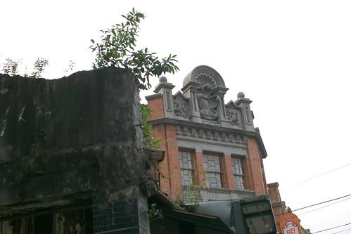 古い建物をリノベーションして使うので、風情あるんだよなー。