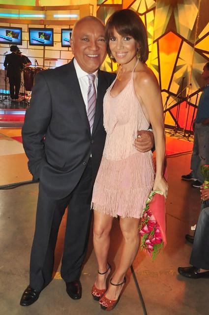 Brenda Sánchez en Divertido con Jochy