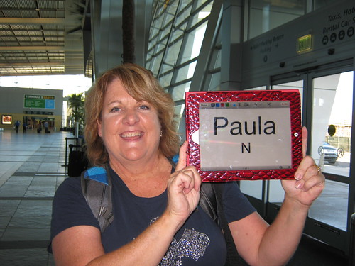 Jan Wells Meeting at San Diego airport