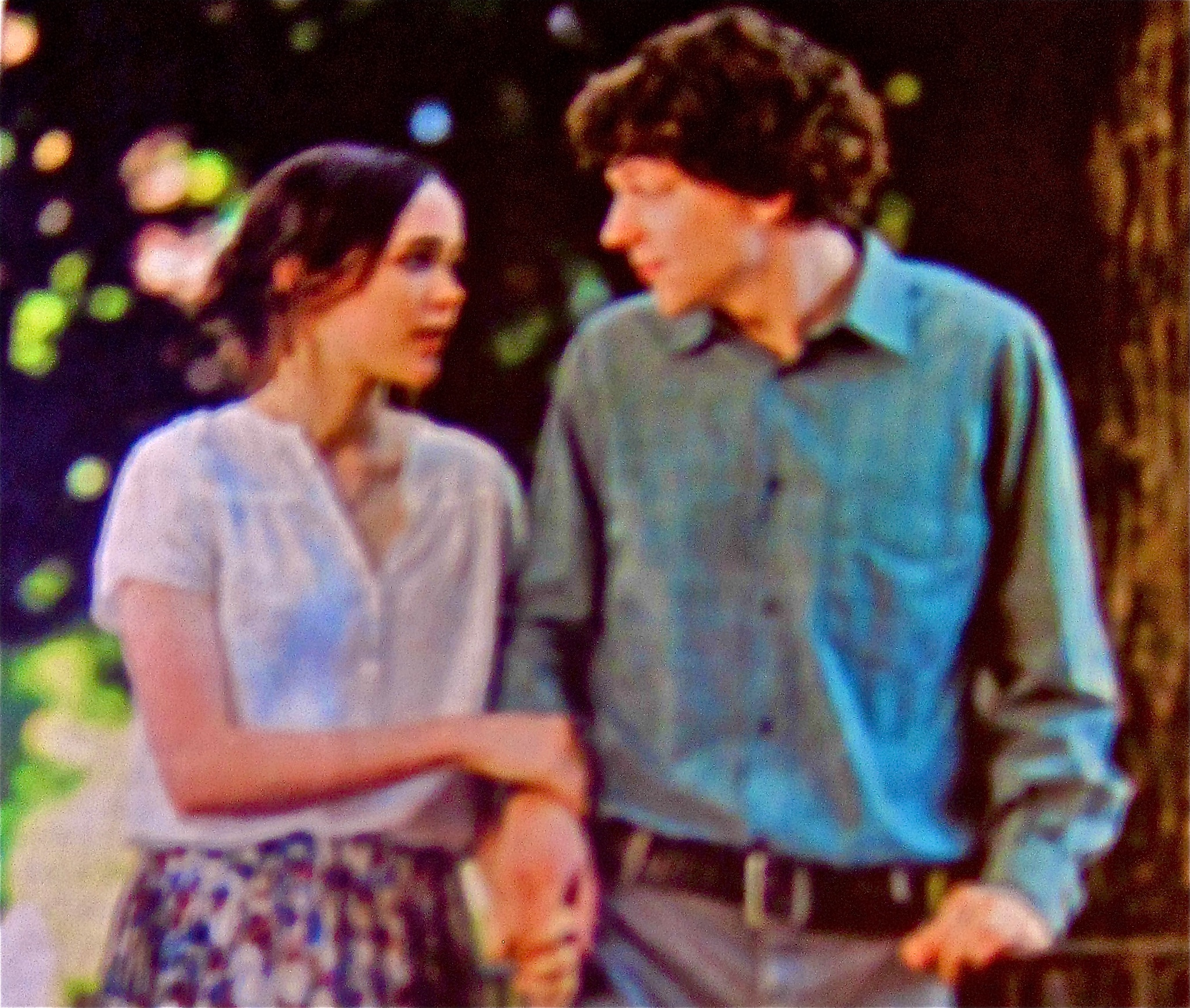 ellen page and Jesse eisenberg