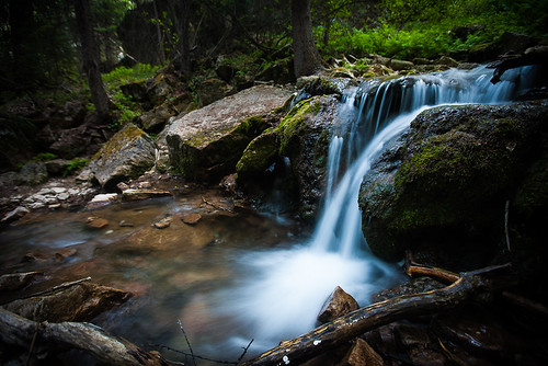 mountains fall water creek landscape outdoors evening waterfall woods colorado rocks stream path stones timber tracks hike clear climbing trail rockymountains brook 28 wilderness lowkey cascade waterscape hanginglake deadhorsecreek nationallandmark