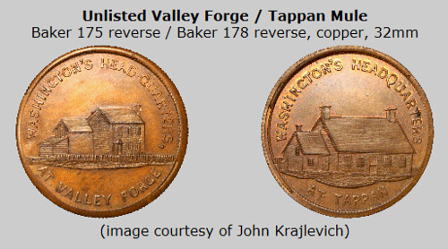 George Lovett Valley Forge token