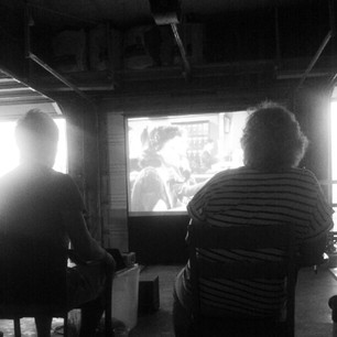 Movie in the Garage