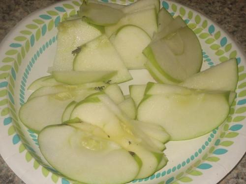 WIAW 6-27-12 Dinner Apple