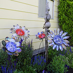 metal flower decorations