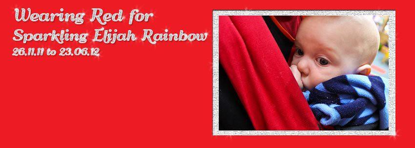 Wearing Red for Elijah