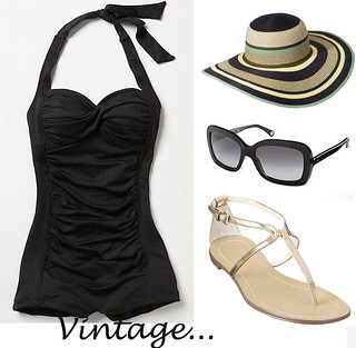 Currently wishing for - vintage inspired swimwear