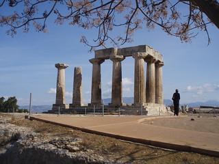 Corinth - Temple of Apollo