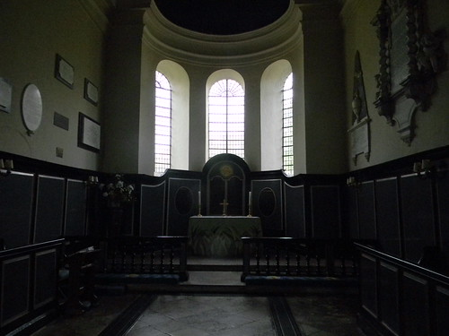 Inside Wye church