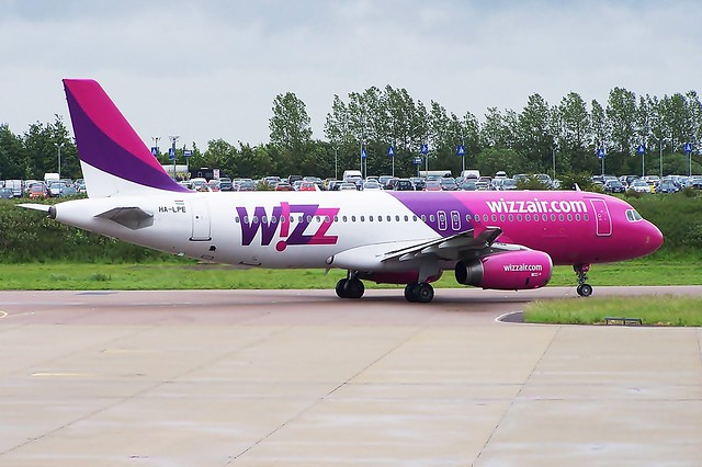HA-LPE A320 WizzAir
