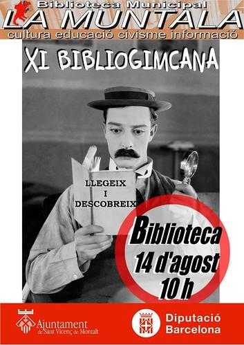 XI bibliogimcana @ 14 d'agost 10 h. by bibliotecalamuntala