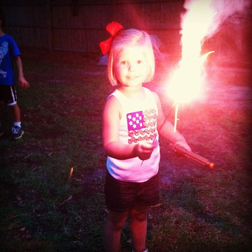 Sparklers...check!