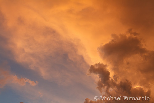 Thunderstorm Sunset Light - 07