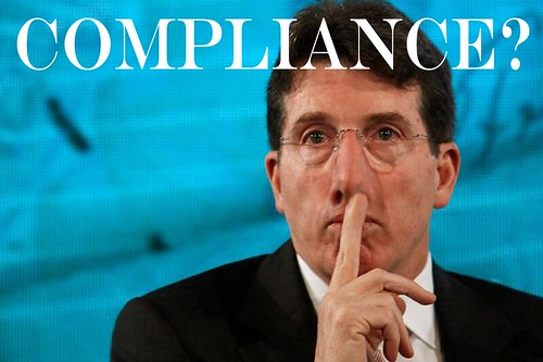 COMPLIANCE? by Colonel Flick