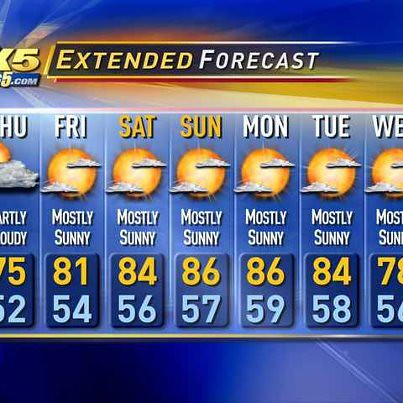 King 5 Seattle Weather Forecast July 5 July 11 2012