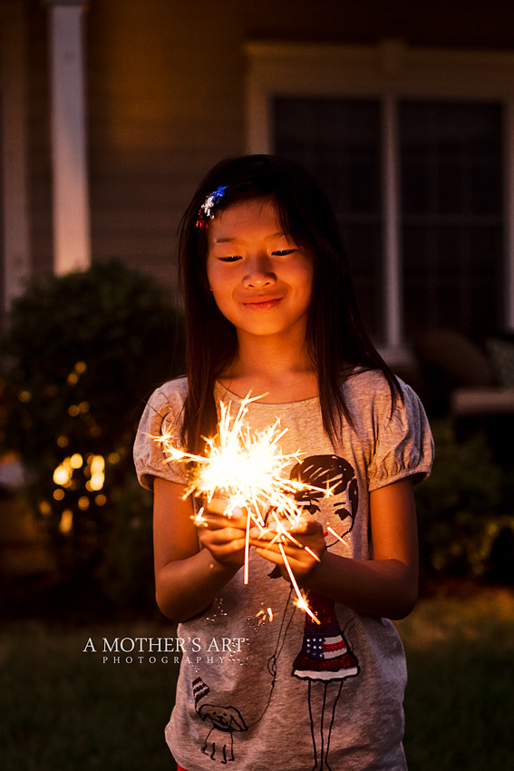 July 4th sparklers 2