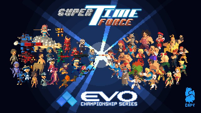 SUPER TIME FORCE VS. STREET FIGHTER!