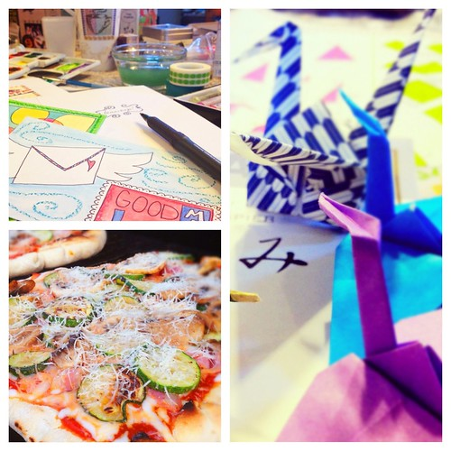 Summertime fun cooking, crafting and sending some snail mail!