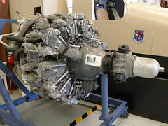 Wright R-3350-57 Cyclone engine
