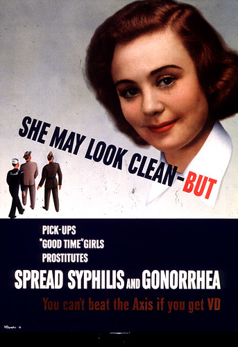 Girl Next Door - Anti-Venereal Disease Poster, WWII
