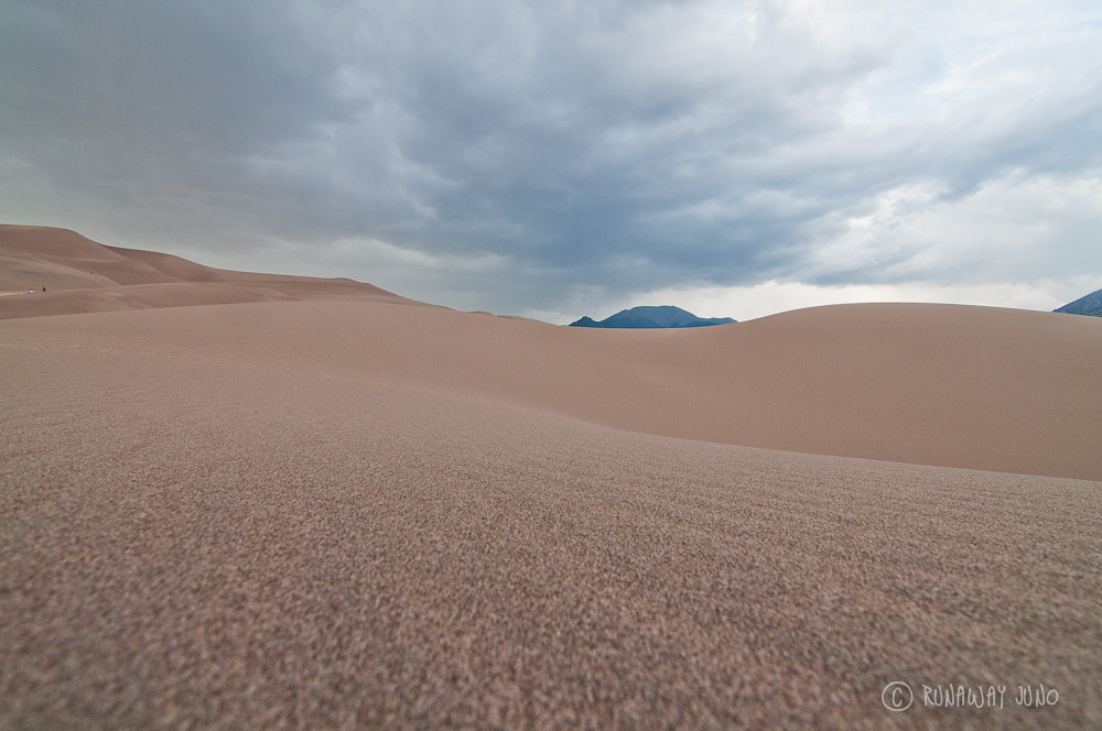 Fine sands on the great sand dunes