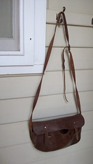 Leather Schoolbag
