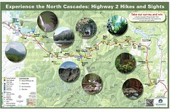 Highway 2 Hikes and Sights Map thumbnail