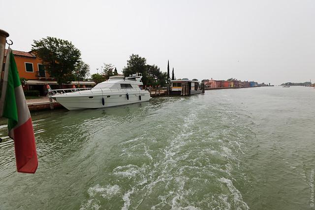 Венецианская лагуна - остров Бурано