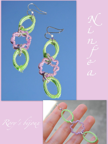Ninfea earrings