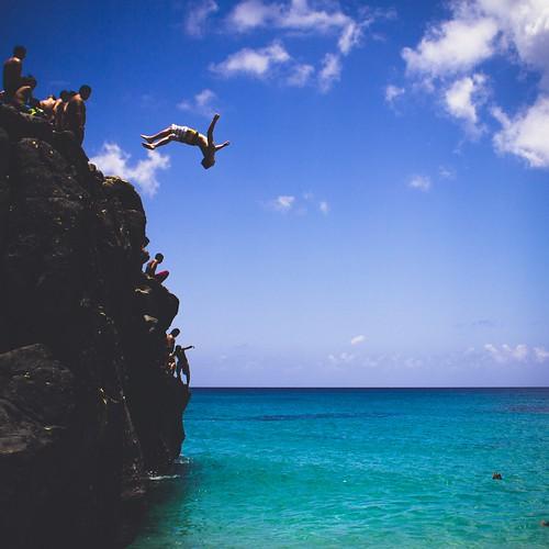 無料写真素材, 人物, 人物  海, 飛び込む・ダイブ