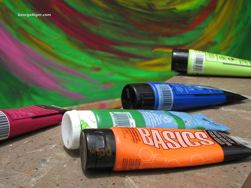 Acrylic Colors, by George Alger