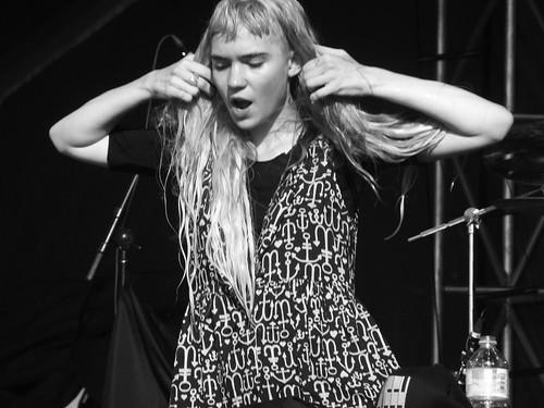 Grimes at Ottawa Bluesfest 2012