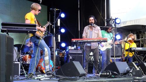 Blitzen Trapper at Ottawa Bluesfest 2012