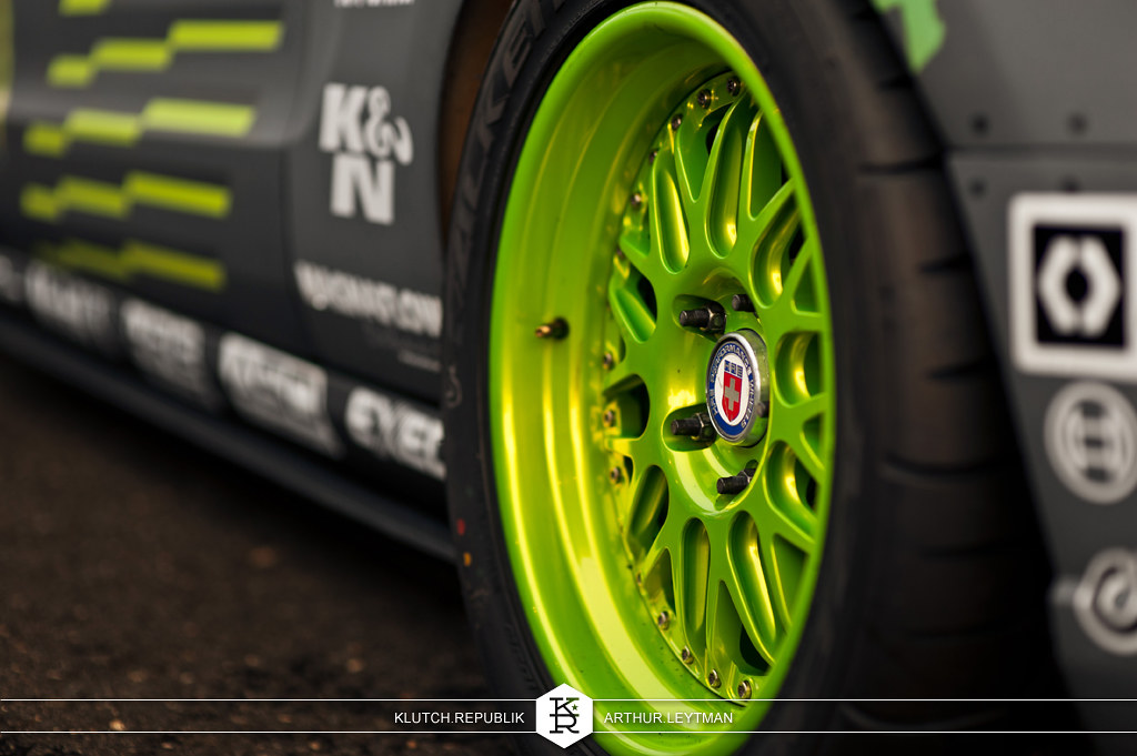 HRE rpc wheels on monster energy ford mustang drifting at formula drift the wall new jersey 3pc wheels static airride low slammed coilovers stance stanced hellaflush poke tuck negative postive camber fitment fitted tire stretch laid out hard parked seen on klutch republik