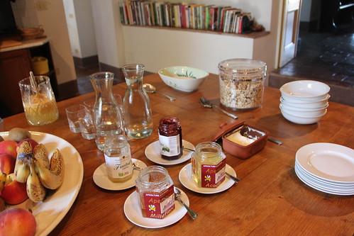Villa Benvenuti Breakfast
