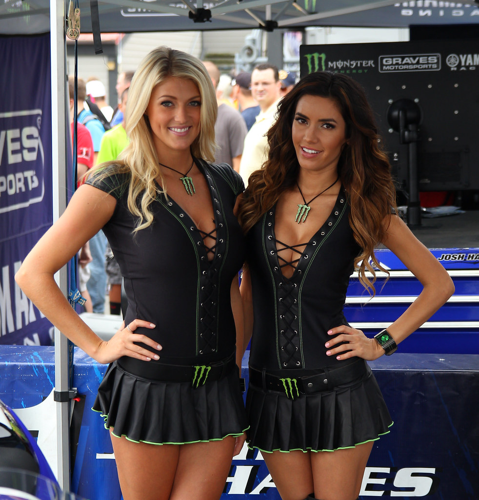 Monster Energy Drink Girls - a photo on Flickriver