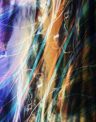 197/366: Light Trails Abstract Background 2012-07-15