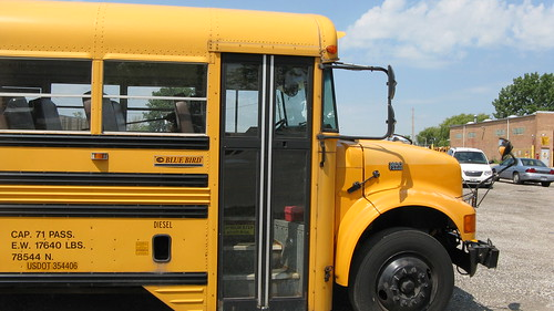 First Student Bluebird school bus.  Glenview Illinois. July 2012. by Eddie from Chicago