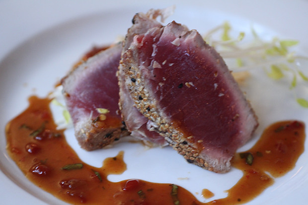 Hawaiian Ahi Tuna at Michael John's Restaurant, Bradenton FL