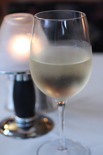 Wine Glass at Michael John's Restaurant, Bradenton FL